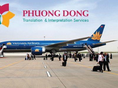 Dịch thuật tiếng Nhật chuyên ngành hàng không